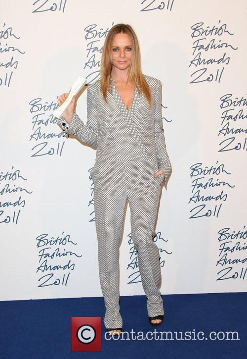 Stella McCartney, winner of Red carpet award The...
