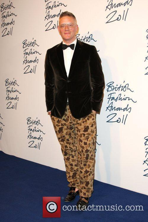 Giles Deacon The British Fashion Awards 2011, held...