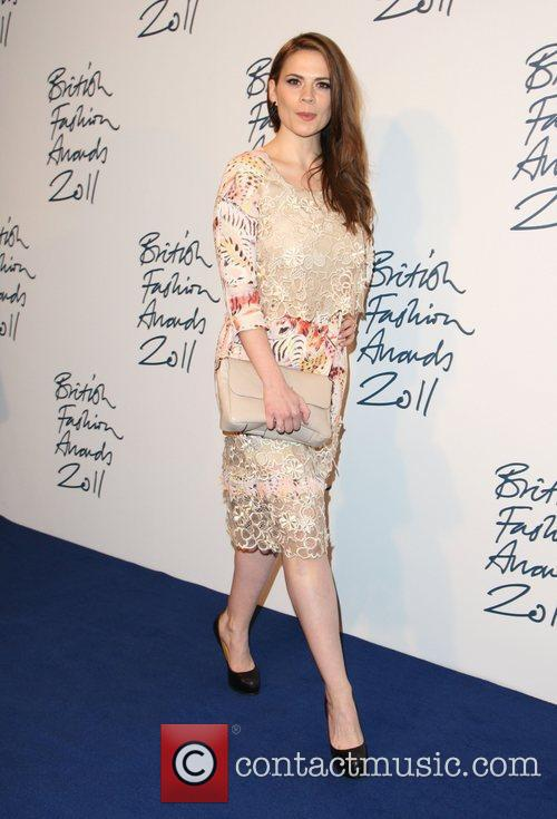 Hayley Atwell The British Fashion Awards 2011, held...