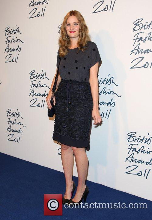 Romola Garai The British Fashion Awards 2011, held...