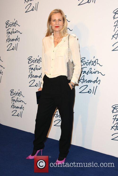 Alannah Weston The British Fashion Awards 2011 held...
