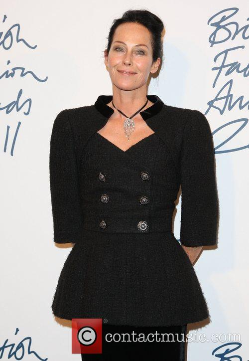 Amanda Harlech The British Fashion Awards 2011 held...