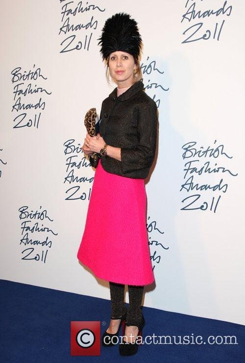 Valeria Napoleone The British Fashion Awards 2011 held...