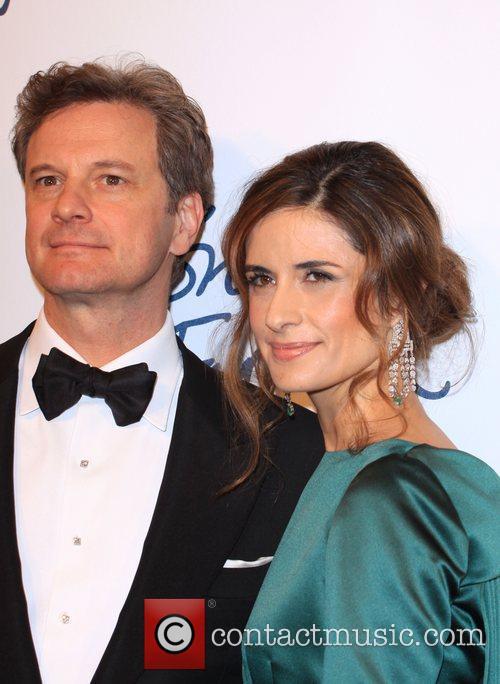 Colin Firth and wife Livia Giuggioli The British...