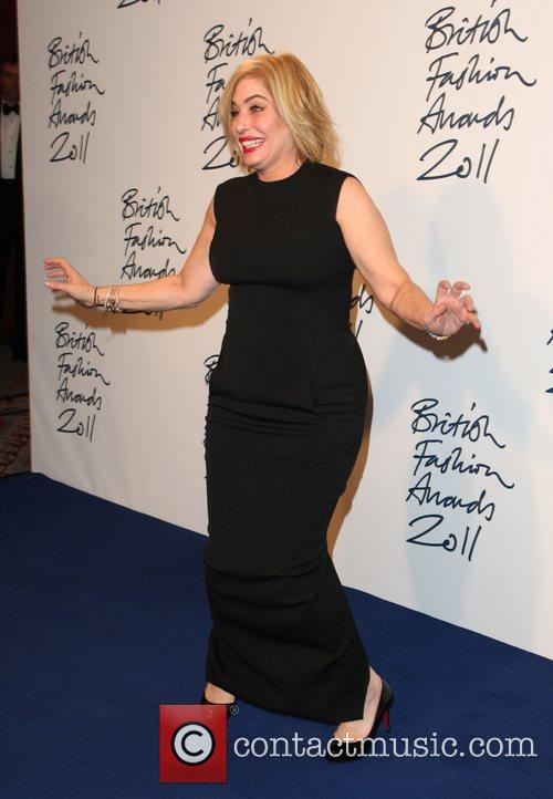 Brix Smith British Fashion Awards 2011 held at...