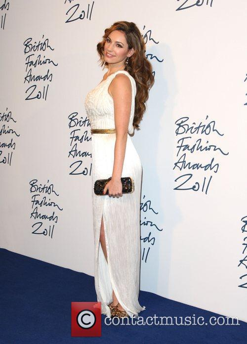 Kelly Brook British Fashion Awards 2011 held at...