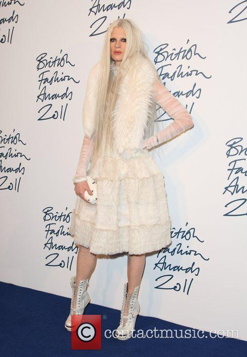 Kristen McMenamy British Fashion Awards 2011 held at...