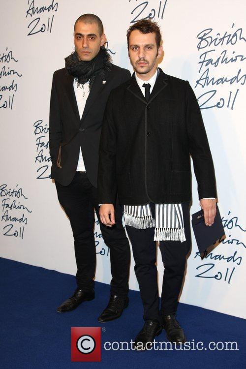 Marios Schwab British Fashion Awards 2011 held at...