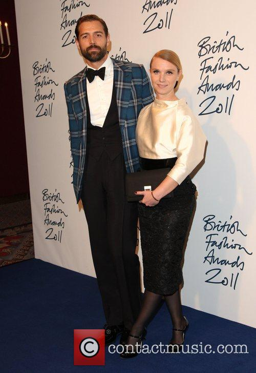 Patrick Grant and Katie Hillier British Fashion Awards...
