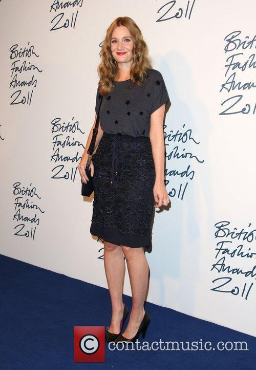 Romola Garai British Fashion Awards 2011 held at...