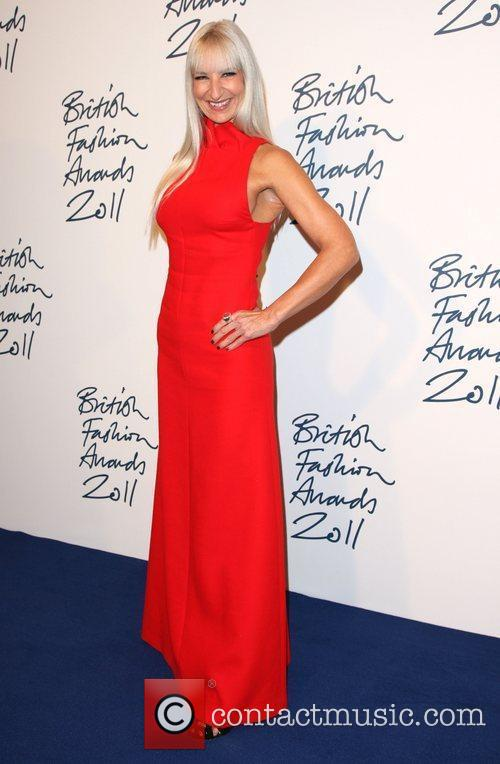 Susanne Tide-Frater British Fashion Awards 2011 held at...