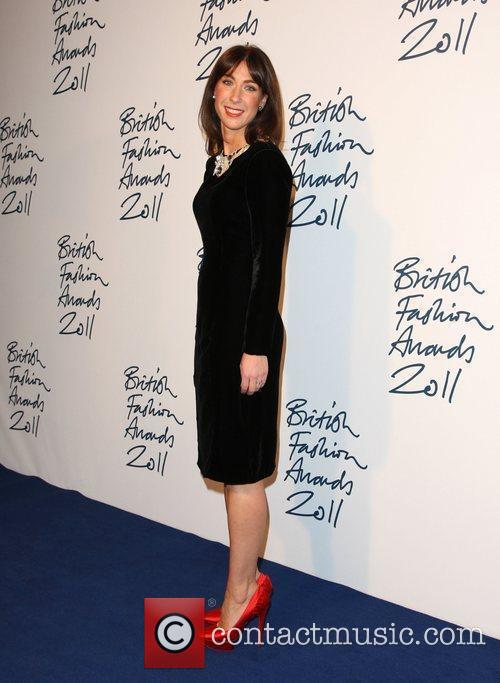Samantha Cameron The British Fashion Awards 2011 held...