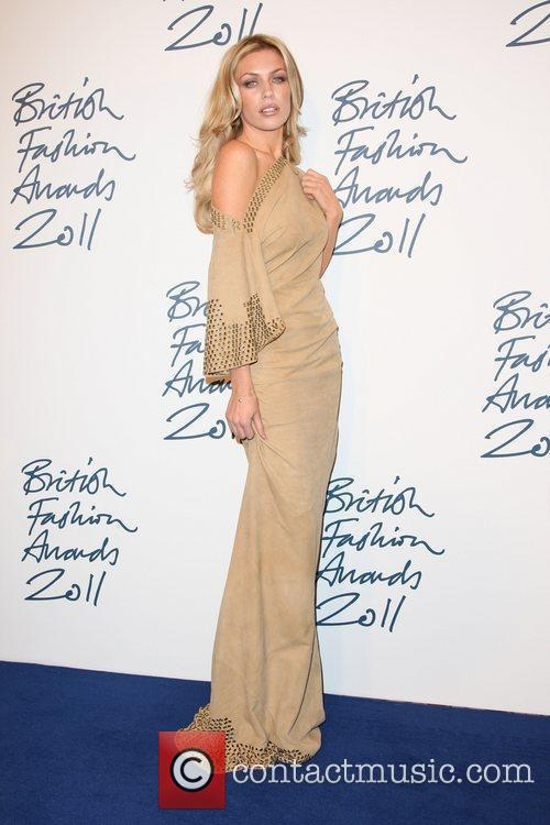 Abbey Clancy The British Fashion Awards 2011 held...