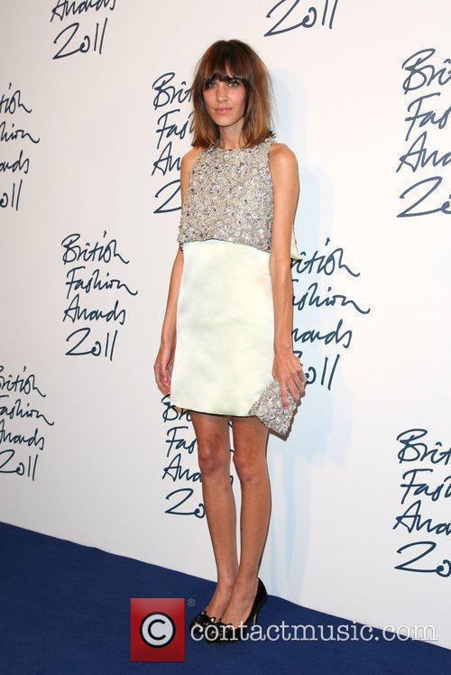 Alexa Chung The British Fashion Awards 2011 held...