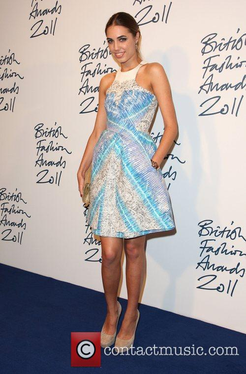 Amber Le Bon The British Fashion Awards 2011...
