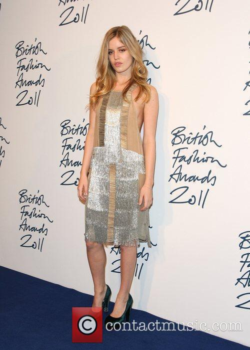 Georgia Jagger The British Fashion Awards 2011 held...