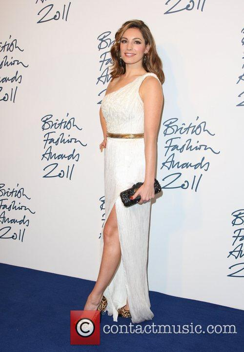 Kelly Brook The British Fashion Awards 2011 held...