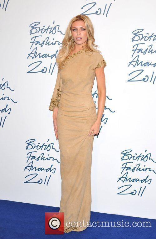 Abi Clancey 2011 British Fashion Awards held at...
