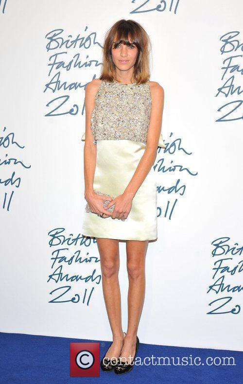 Alexa Chung 2011 British Fashion Awards held at...