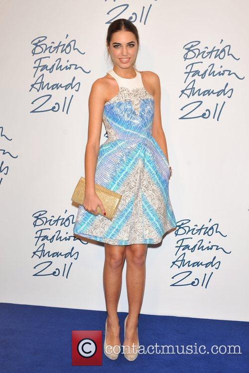 Amber Le Bon 2011 British Fashion Awards held...