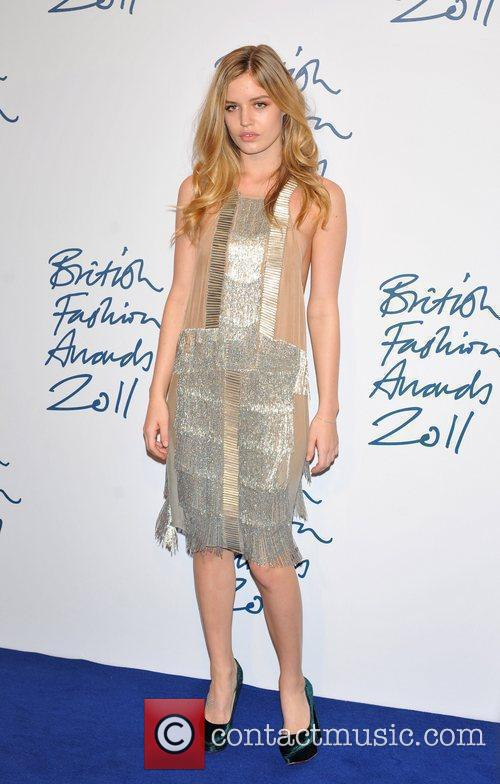 Georgia May Jagger 2011 British Fashion Awards held...