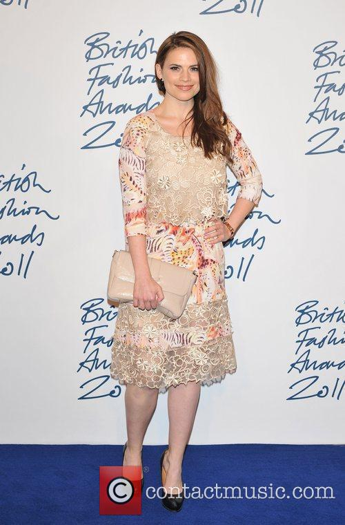 Hayley Attwell 2011 British Fashion Awards held at...