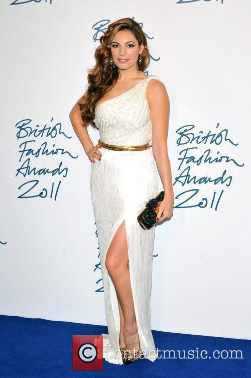 Kelly Brook 2011 British Fashion Awards held at...