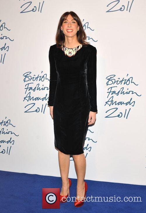 Samantha Cameron 2011 British Fashion Awards held at...