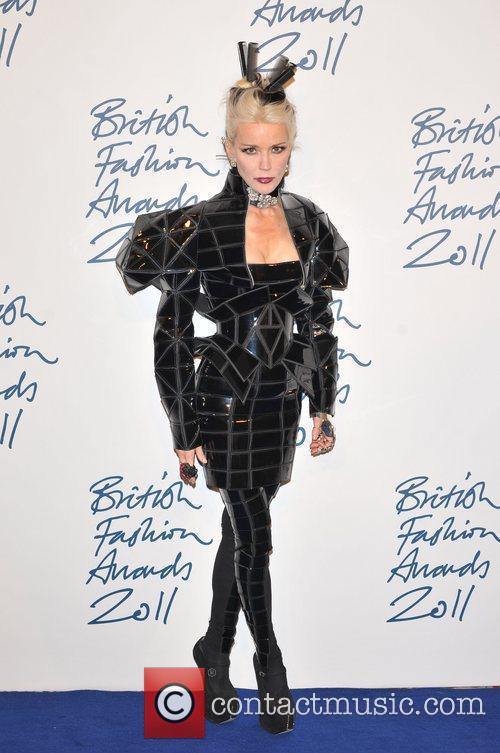 Daphne Guinness 2011 British Fashion Awards held at...