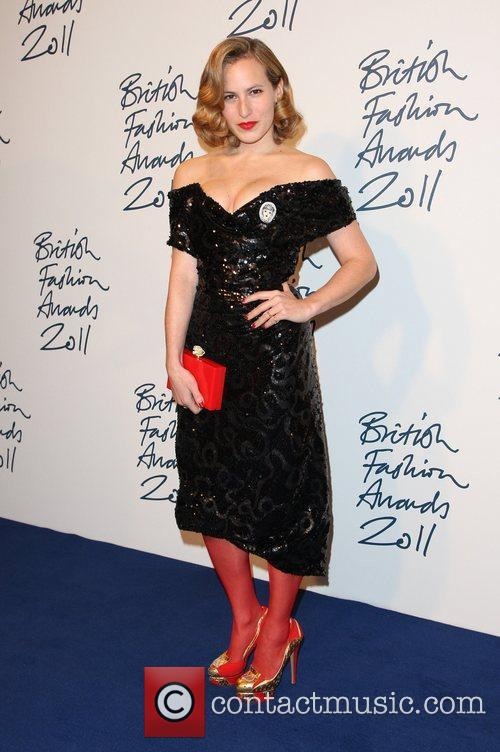 Charlotte Dellal The British Fashion Awards 2011, held...