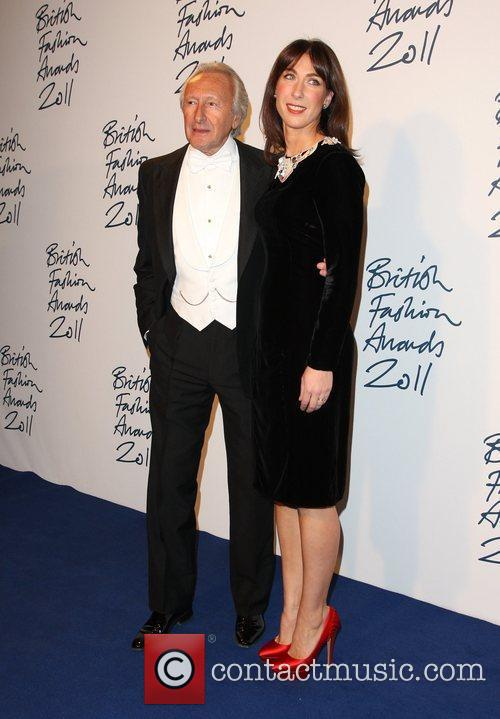 Harold Tillman and Samantha Cameron The British Fashion...