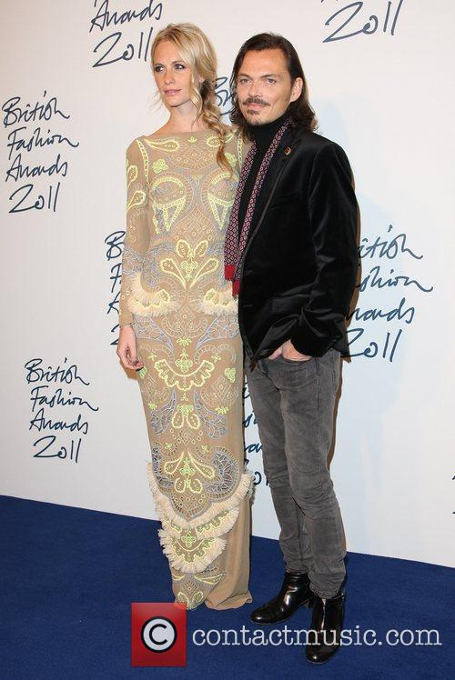 Poppy Delevigne and Matthew Williamson The British Fashion...
