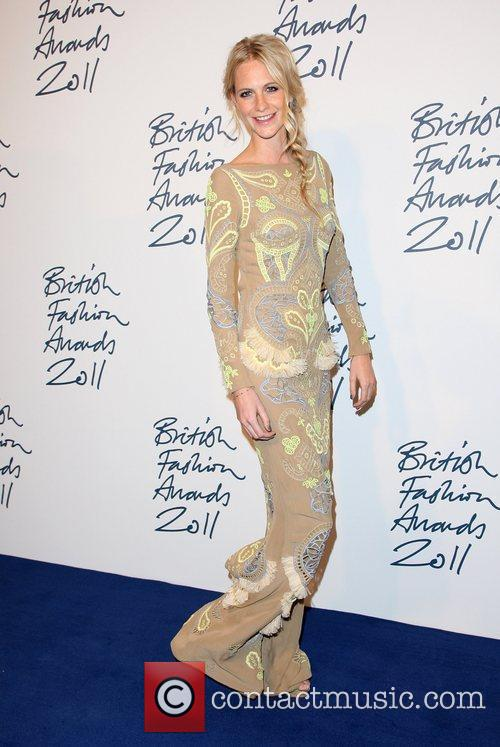Poppy Delevigne The British Fashion Awards 2011, held...