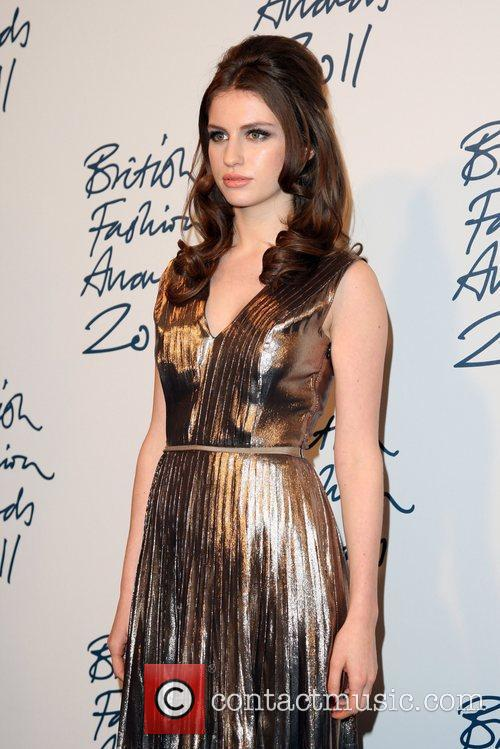 Tali Lennox The British Fashion Awards 2011, held...