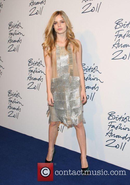 Georgie Jagger The British Fashion Awards 2011, held...
