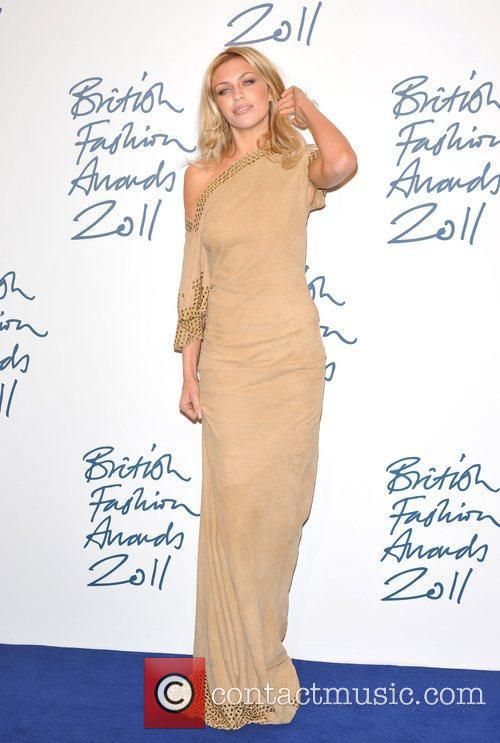 Abbey Clancy 2011 British Fashion Awards held at...