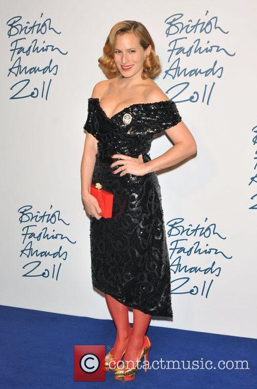 Charlotte Dellal 2011 British Fashion Awards held at...