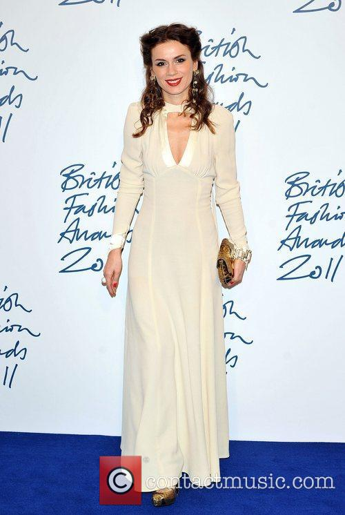 Lara Bohinc 2011 British Fashion Awards held at...