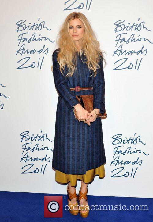 Laura Bailey 2011 British Fashion Awards held at...