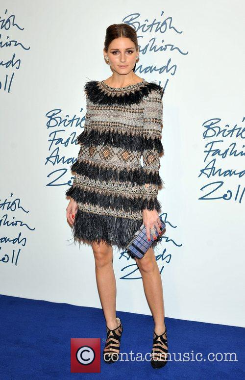 Olivia Palermo 2011 British Fashion Awards held at...