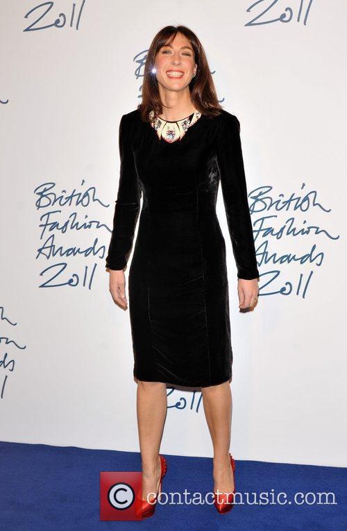 samantha cameron 2011 british fashion awards held 3631122