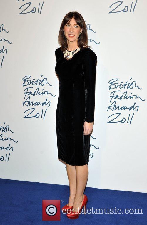 samantha cameron 2011 british fashion awards held 3631140