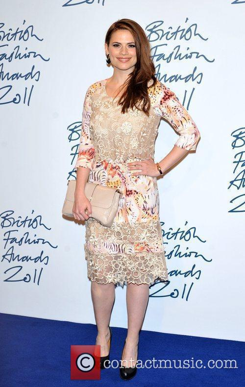 Hayley Atwell 2011 British Fashion Awards held at...