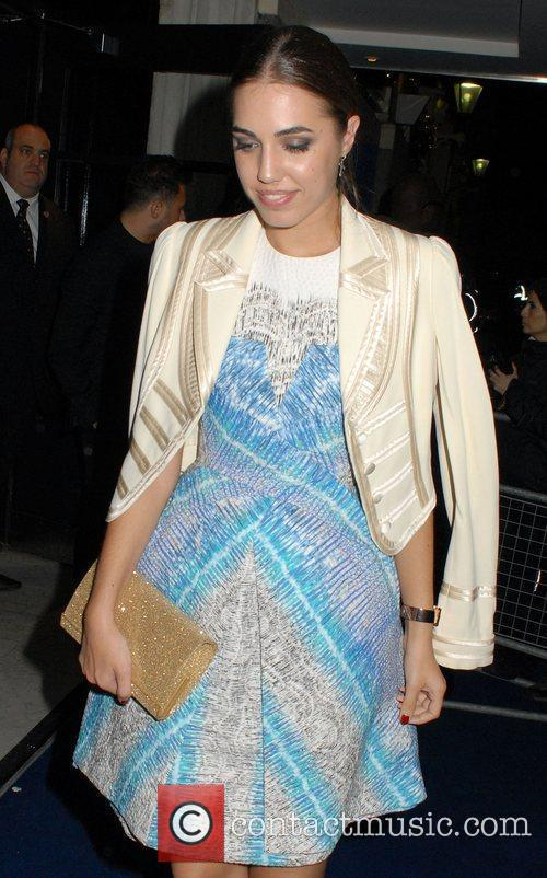 Amber Le Bon,  2011 British Fashion Awards...