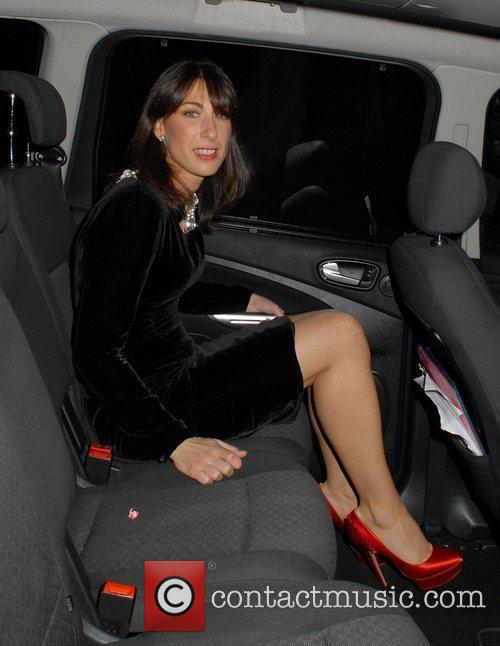 Samantha Cameron,  2011 British Fashion Awards held...