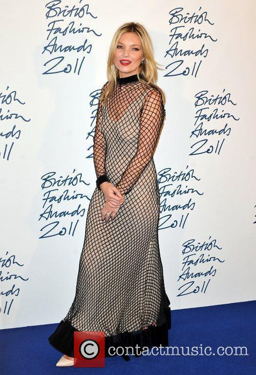Kate Moss 2011 British Fashion Awards held at...