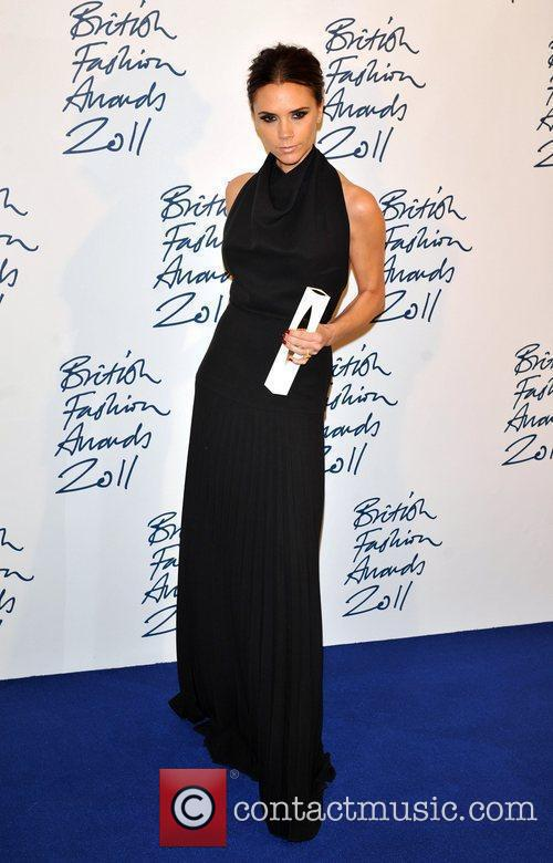 Victoria Beckham 2011 British Fashion Awards held at...