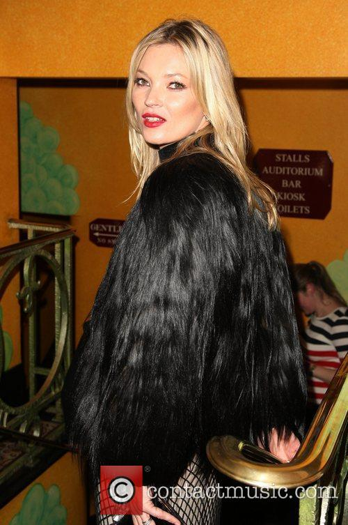 Kate Moss The British Fashion Awards 2011, held...