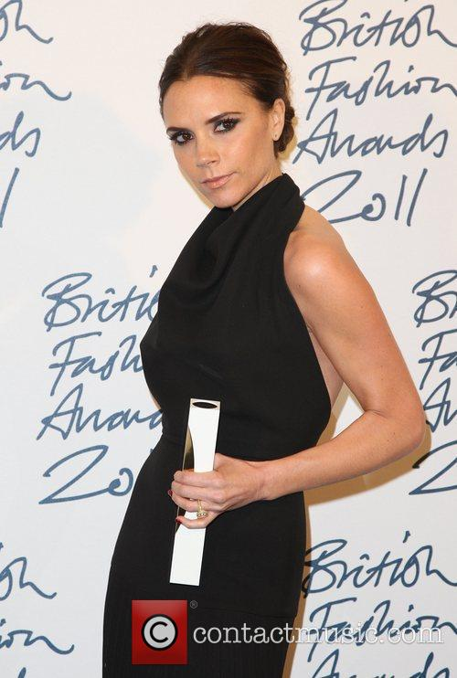 Victoria Beckham, winner of Designer Brand The British...