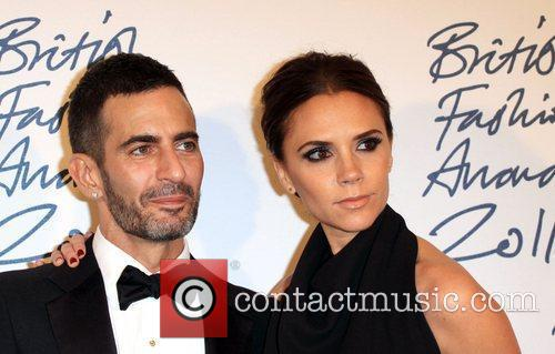 Victoria Beckham and Marc Jacobs British Fashion Awards...